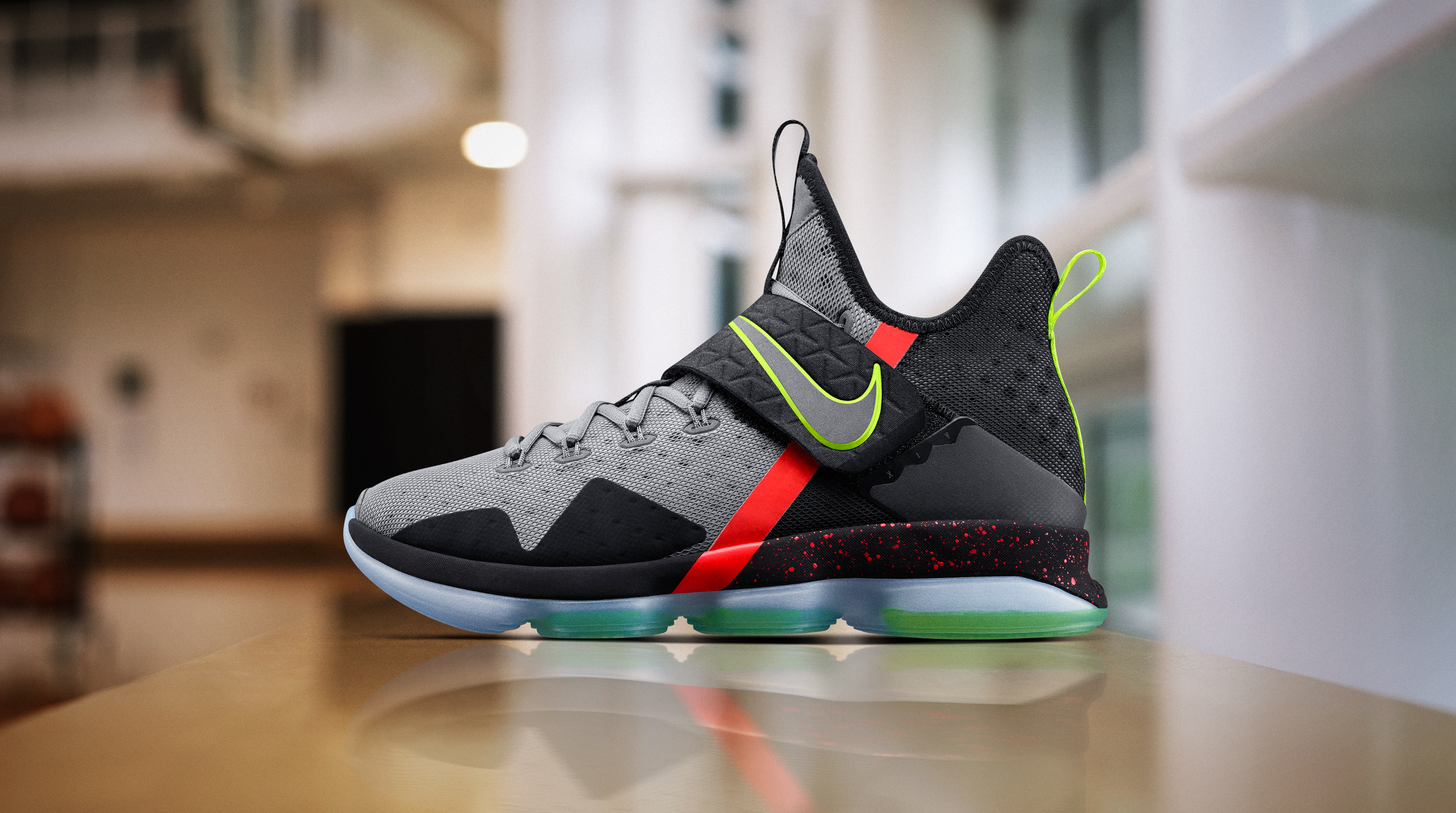 new concept bb8e9 1aad9 First Look  LeBron 14 - Nike News