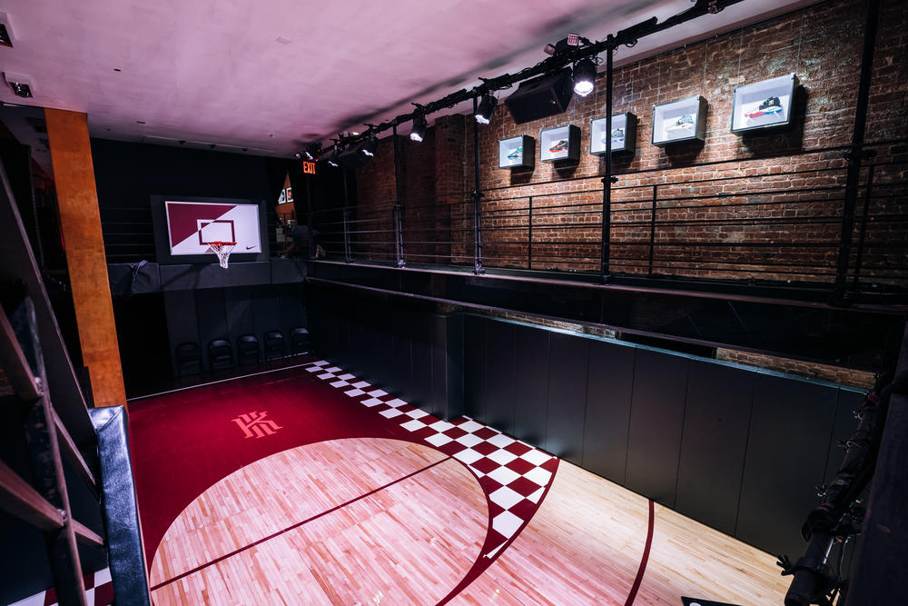 Nike Basketball Opens KY's Records at 306 Bowery
