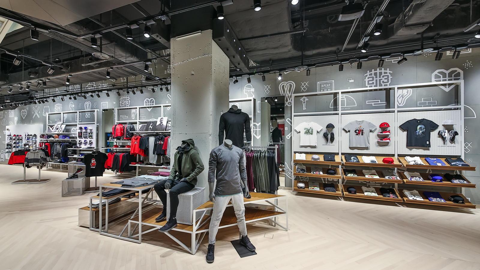 Jordan Brand Opens Largest Jordan-only