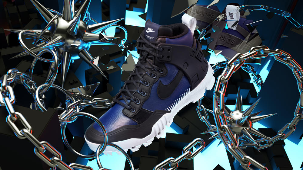 The NikeLab x UNDERCOVER SFB Jungle Dunk