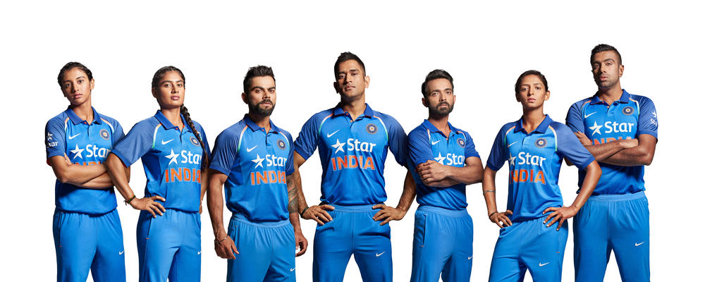 3a137c5a54af Nike Unveils New Team India Cricket Kit