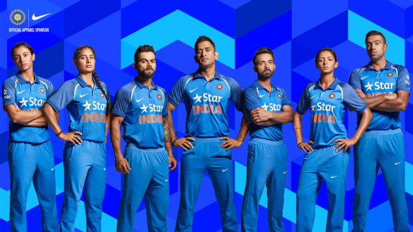 Wallpaper Team India National Cricket Team Indian: Nike Unveils New Team India Cricket Kit