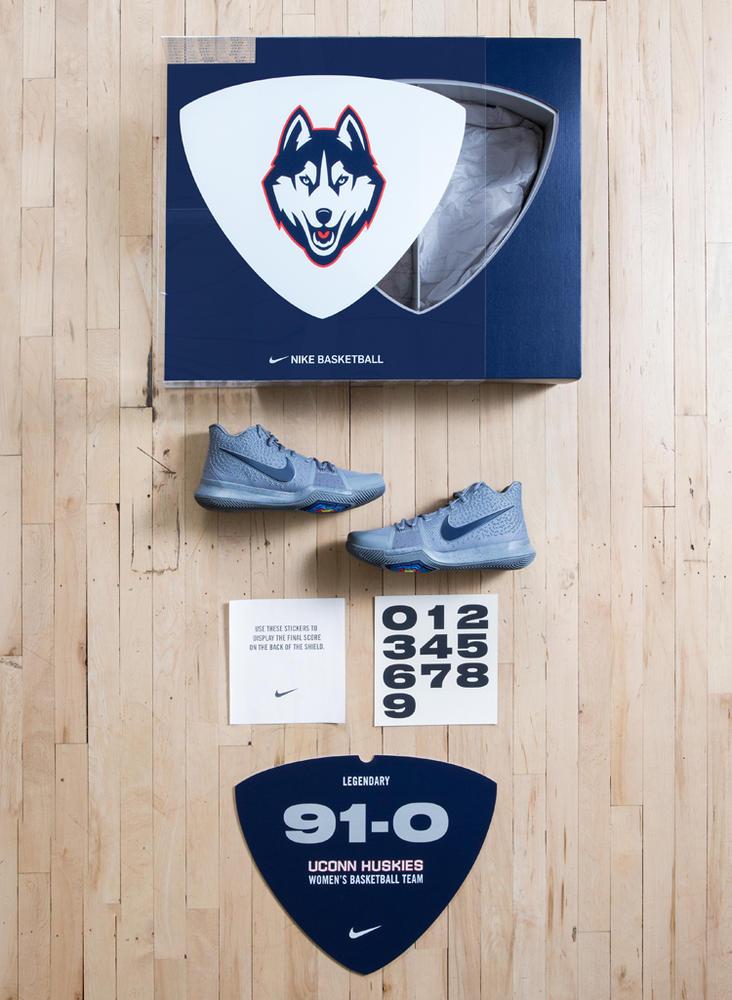 the latest 5ec23 ed16b Nike Celebrates the UConn Huskies 91 Straight Wins
