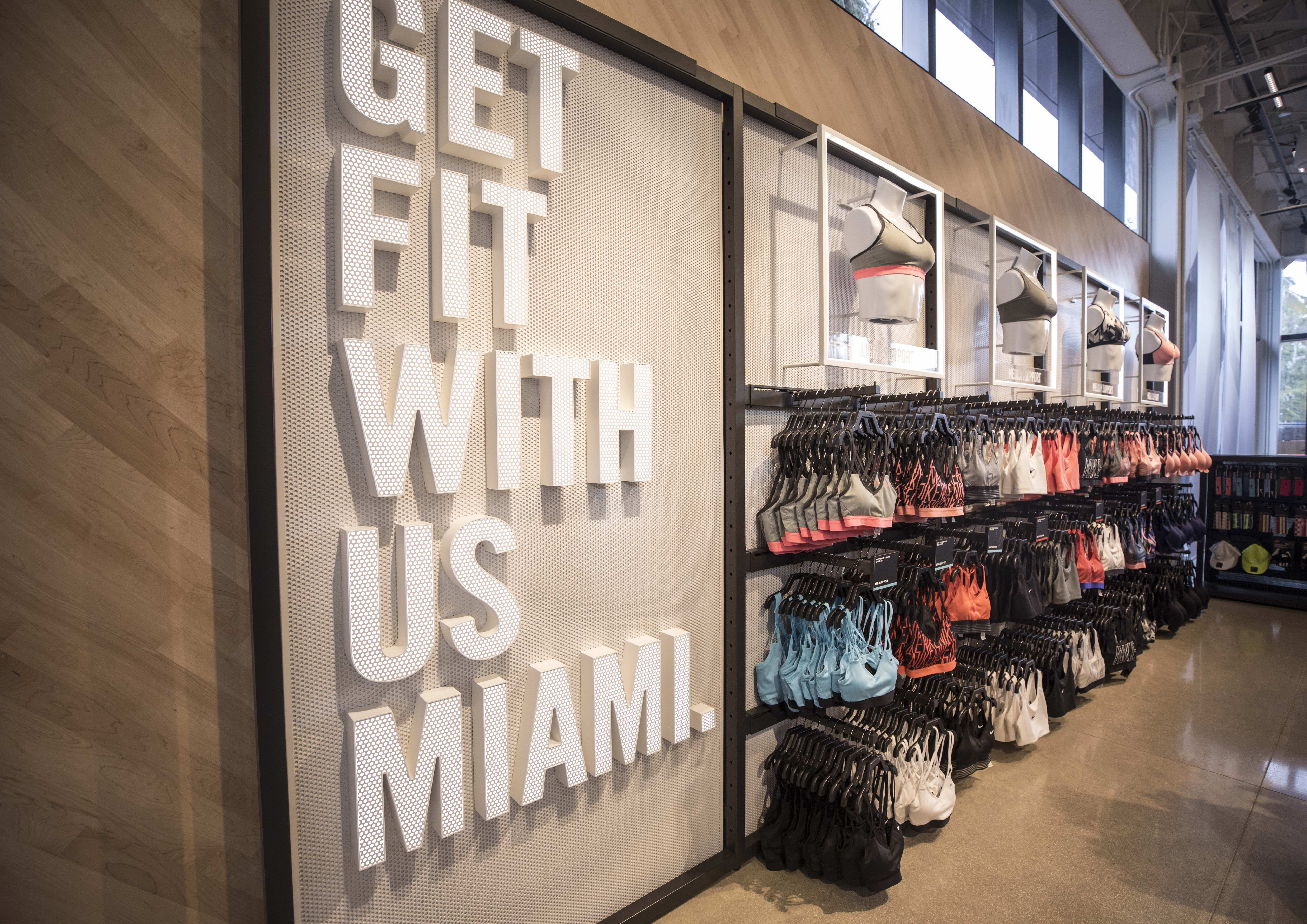 First Look Inside Nike Miami