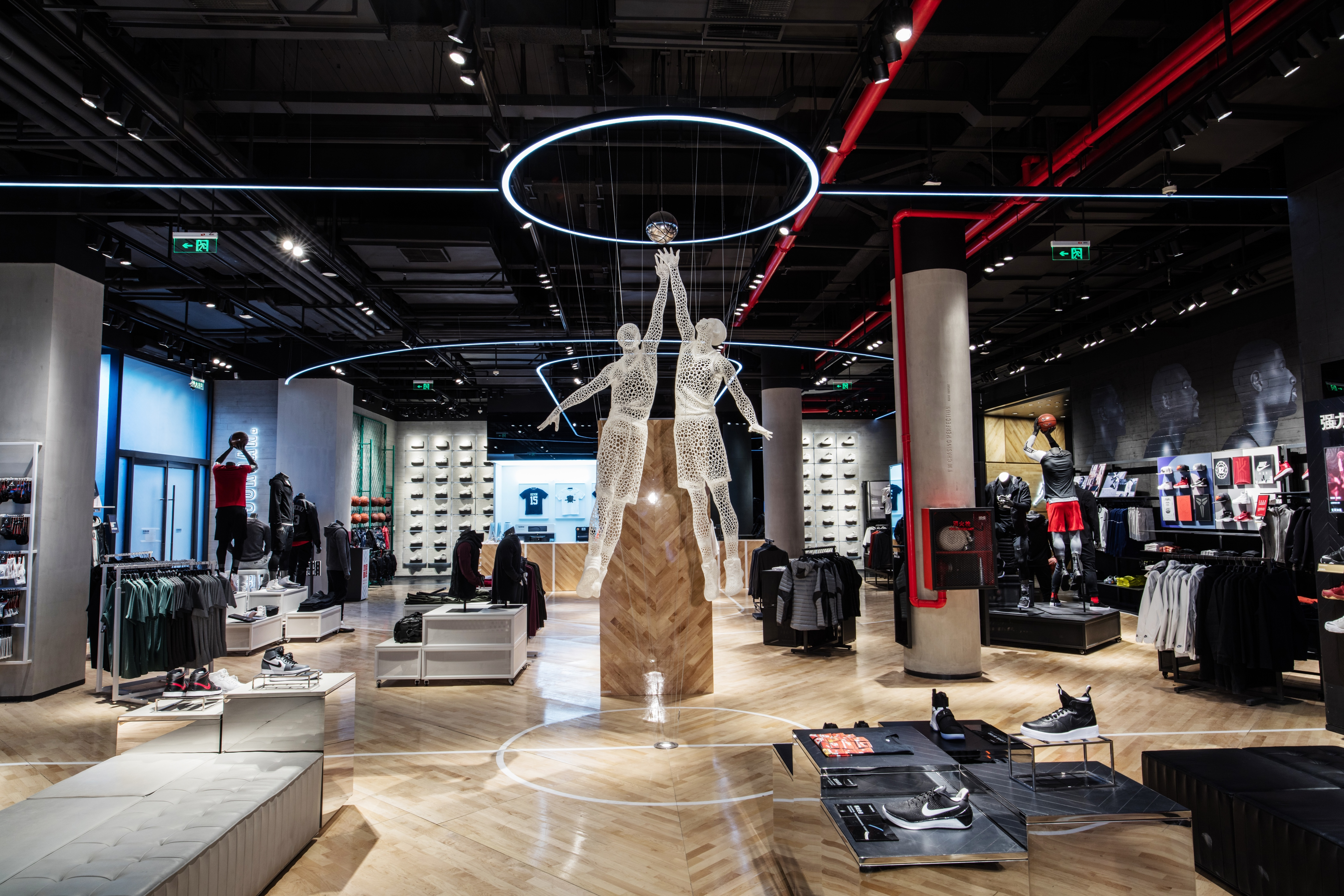 LO HI First Look Inside The Nike Jordan Basketball Experience Store