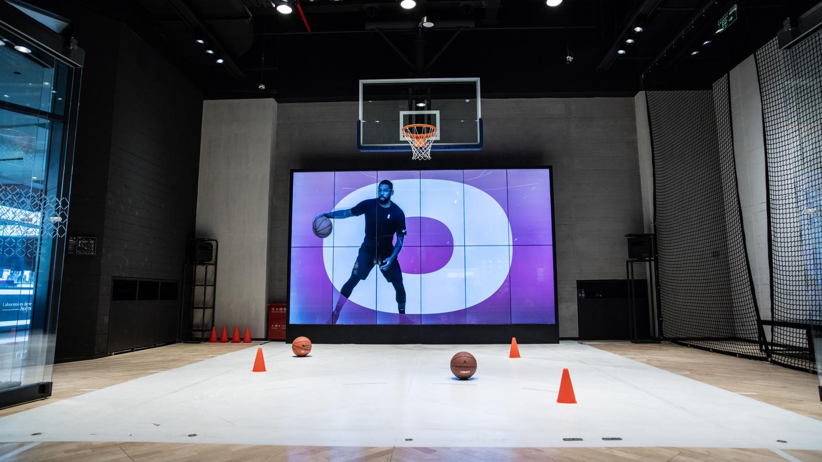eabbe702a First Look  Inside the Nike   Jordan Basketball Experience Store in ...
