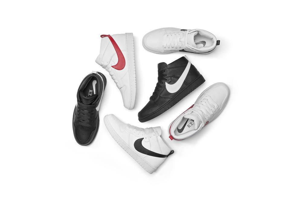 The NikeLab Dunk Lux Chukka x RT