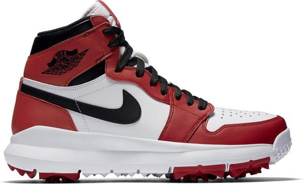 nike shoes red and white. nike golf brings air jordan i retro high to the links shoes red and white