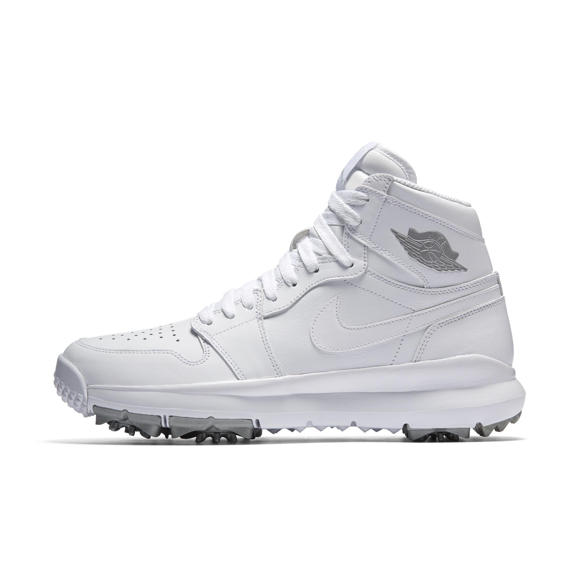 air jordan high top golf shoes size 10.5