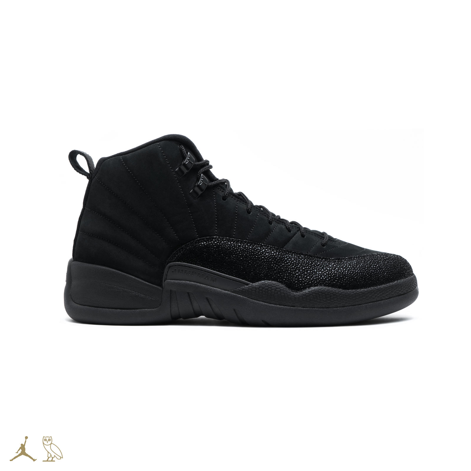 Black ovo jordan 12s 01 square 1600