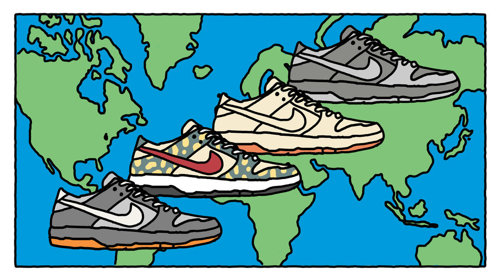 The Nike Dunk SB: A Visual History