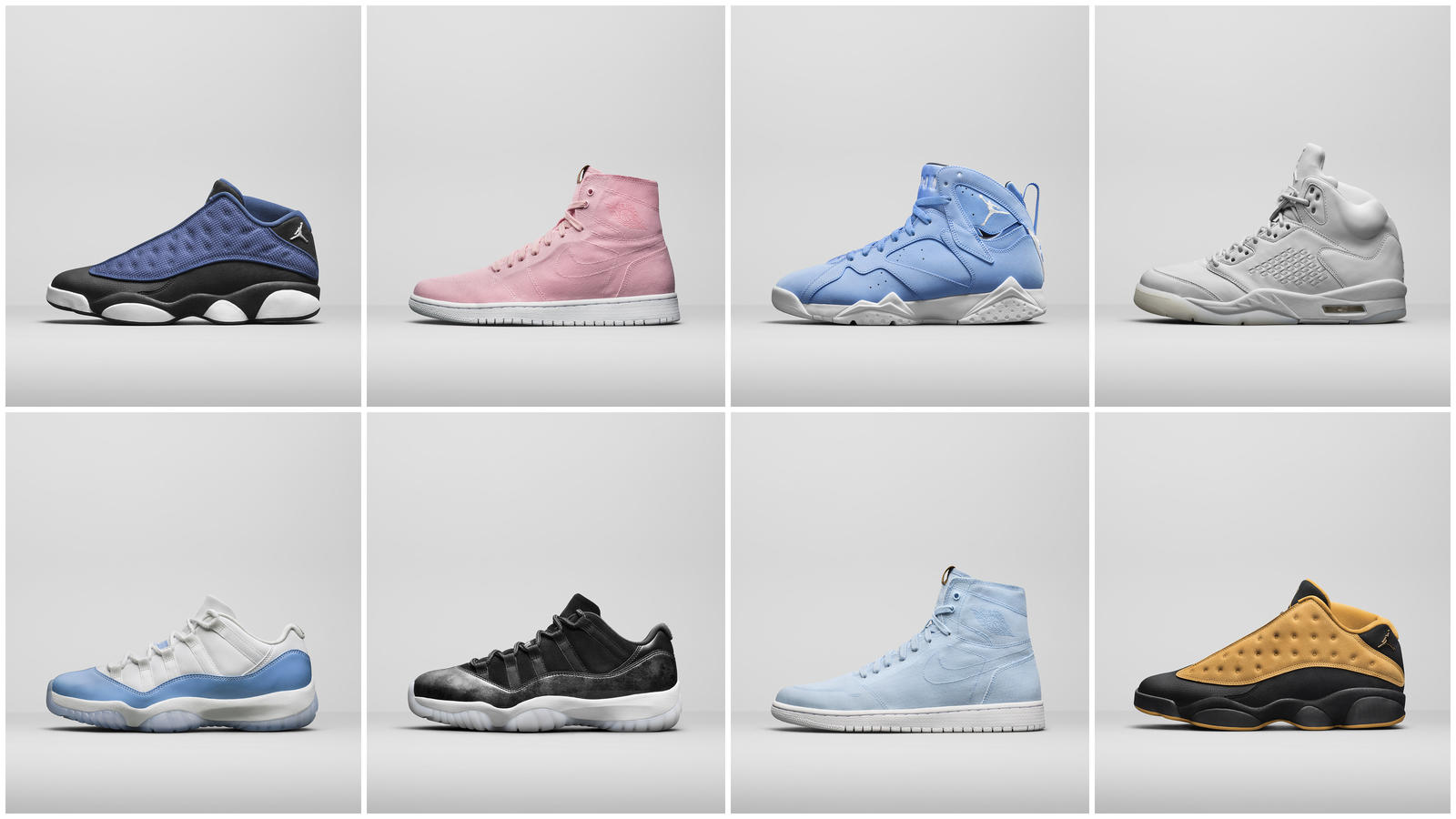 Jordan Brand Select Summer Retro Styles
