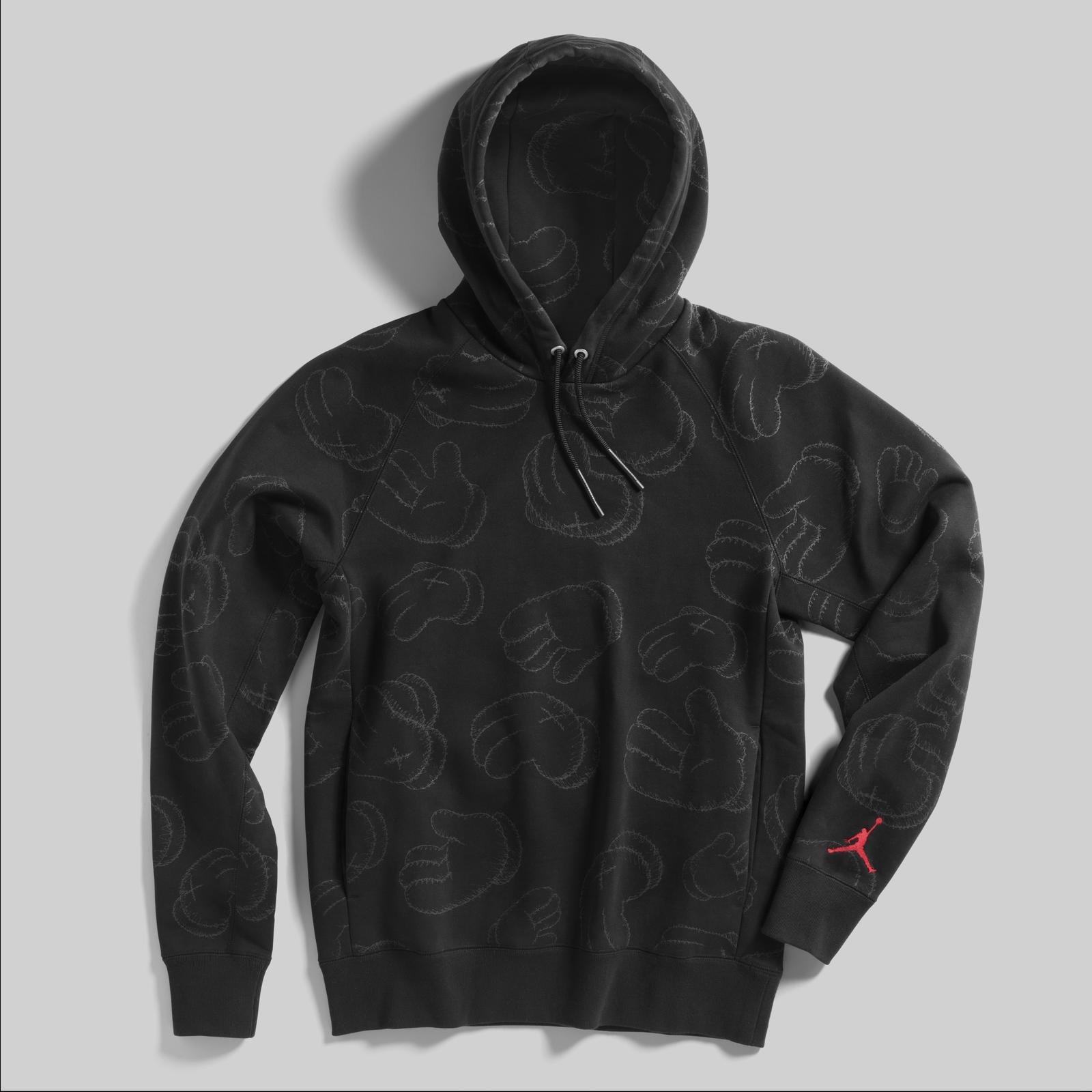 jordan x kaws hoodie