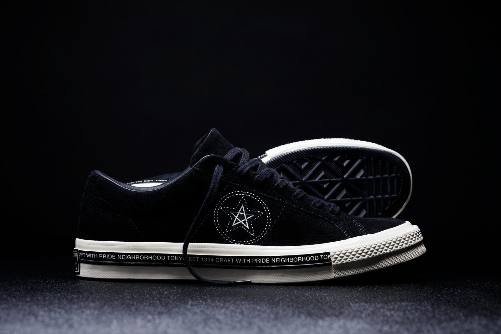 1233d05022cab Converse and Neighborhood Announce New Moto-Inspired Collaboration 2. The  Converse x Neighborhood One Star  74 ...