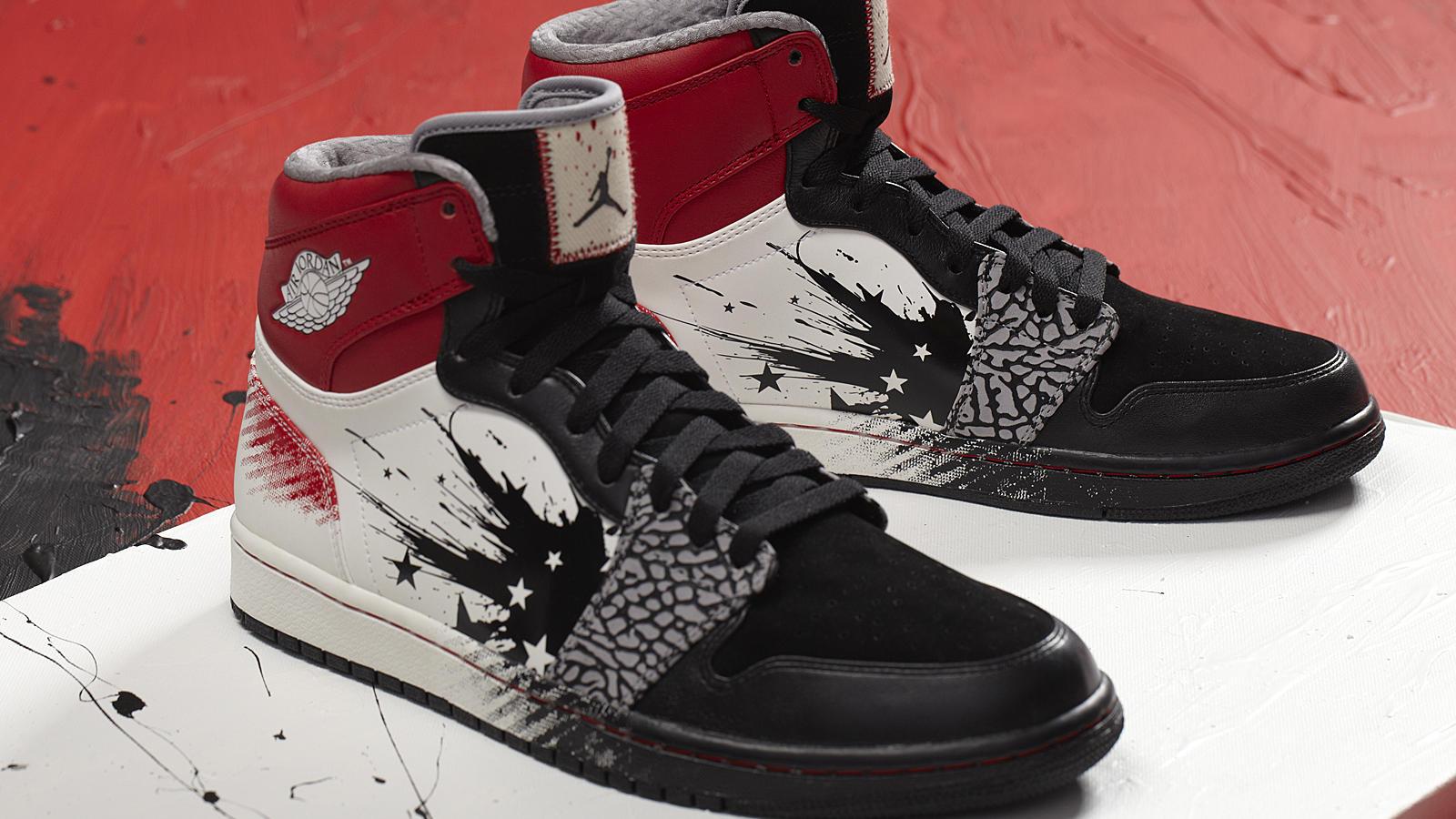 Air Jordan Paint Colorway Shoes
