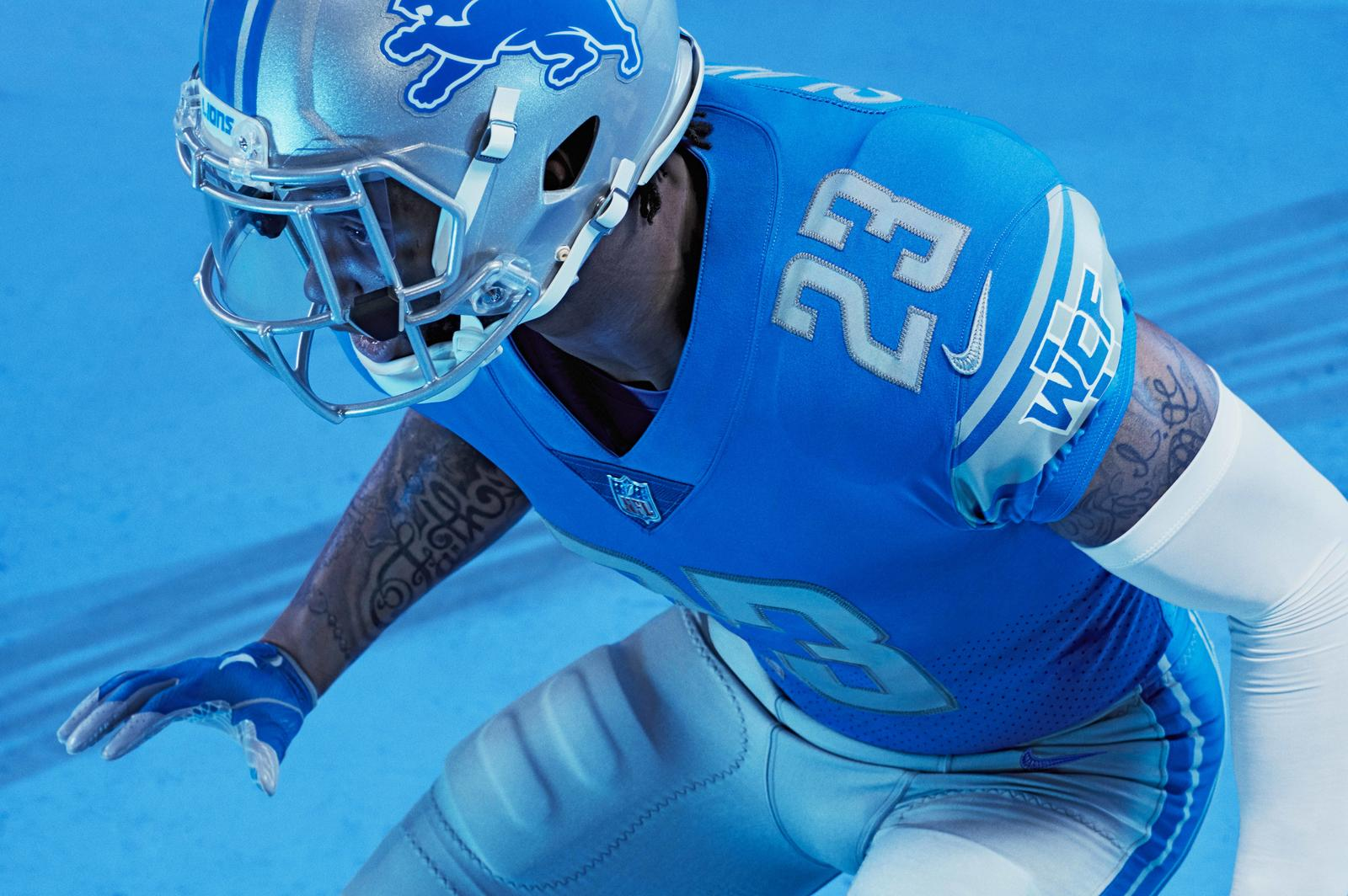 5 Reasons to Obsess Over the New Lions Uniforms Nike News
