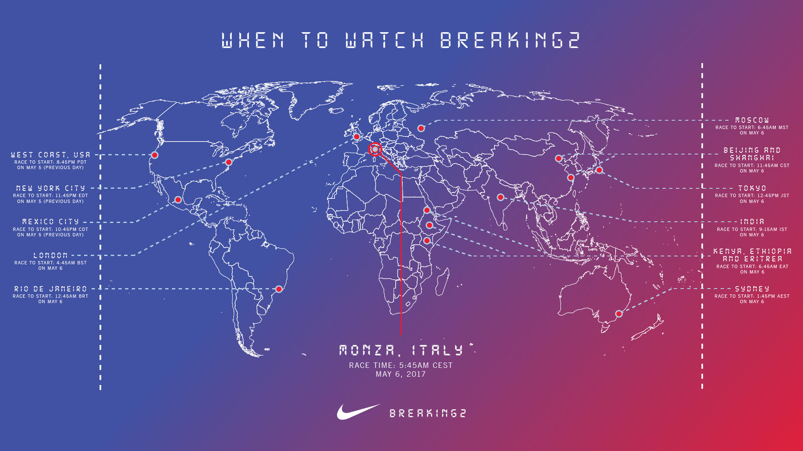 Nike Announces its Breaking2 Race Date and What You Need to Know to Watch it  2