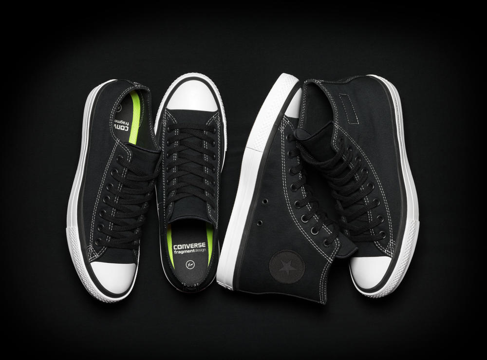 Converse and Fragment Design Debut Chuck Taylor All Star Special Edition
