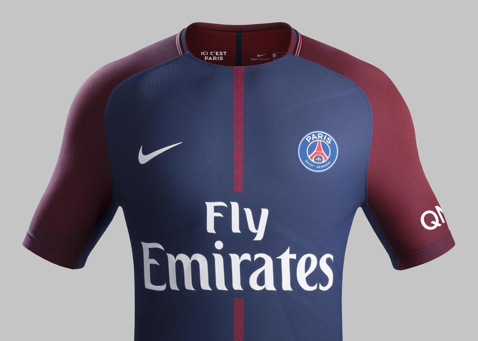 Paris Saint-Germain Home Kit 2017-18 - Nike News