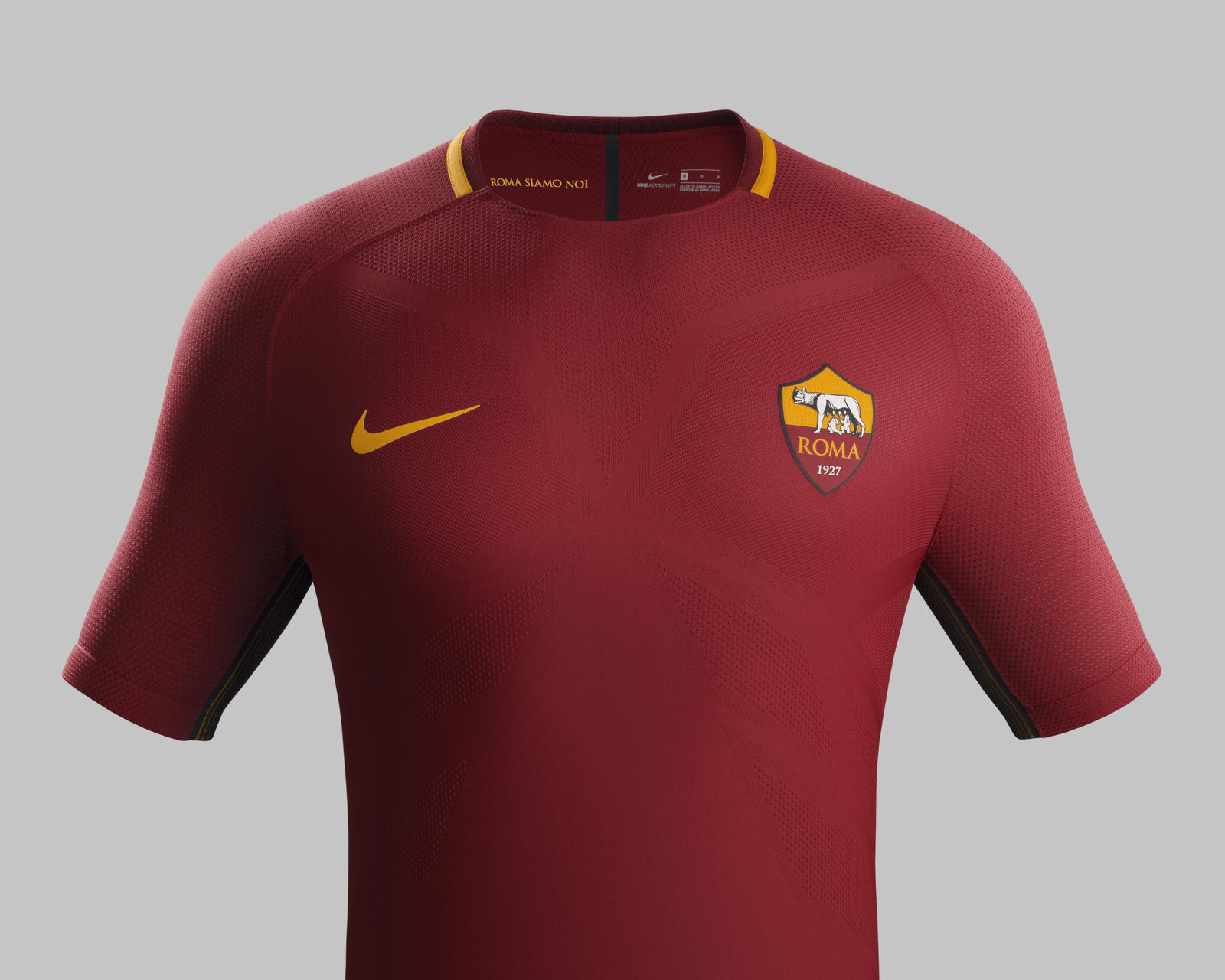As Roma Home Kit 2017 18 Nike News
