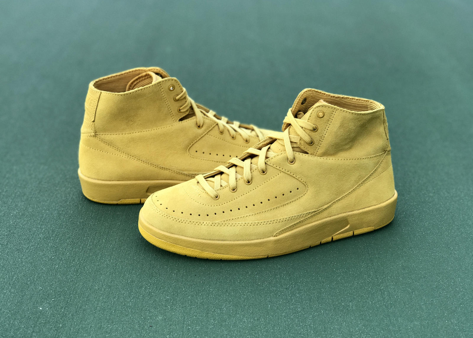 Air Jordan II Decon: The First Luxury Basketball Sneaker Gets Deconstructed 6