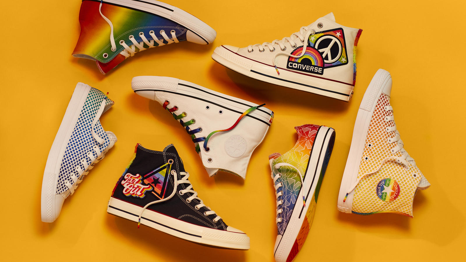 Converse Unveils the Converse Pride Collection 3