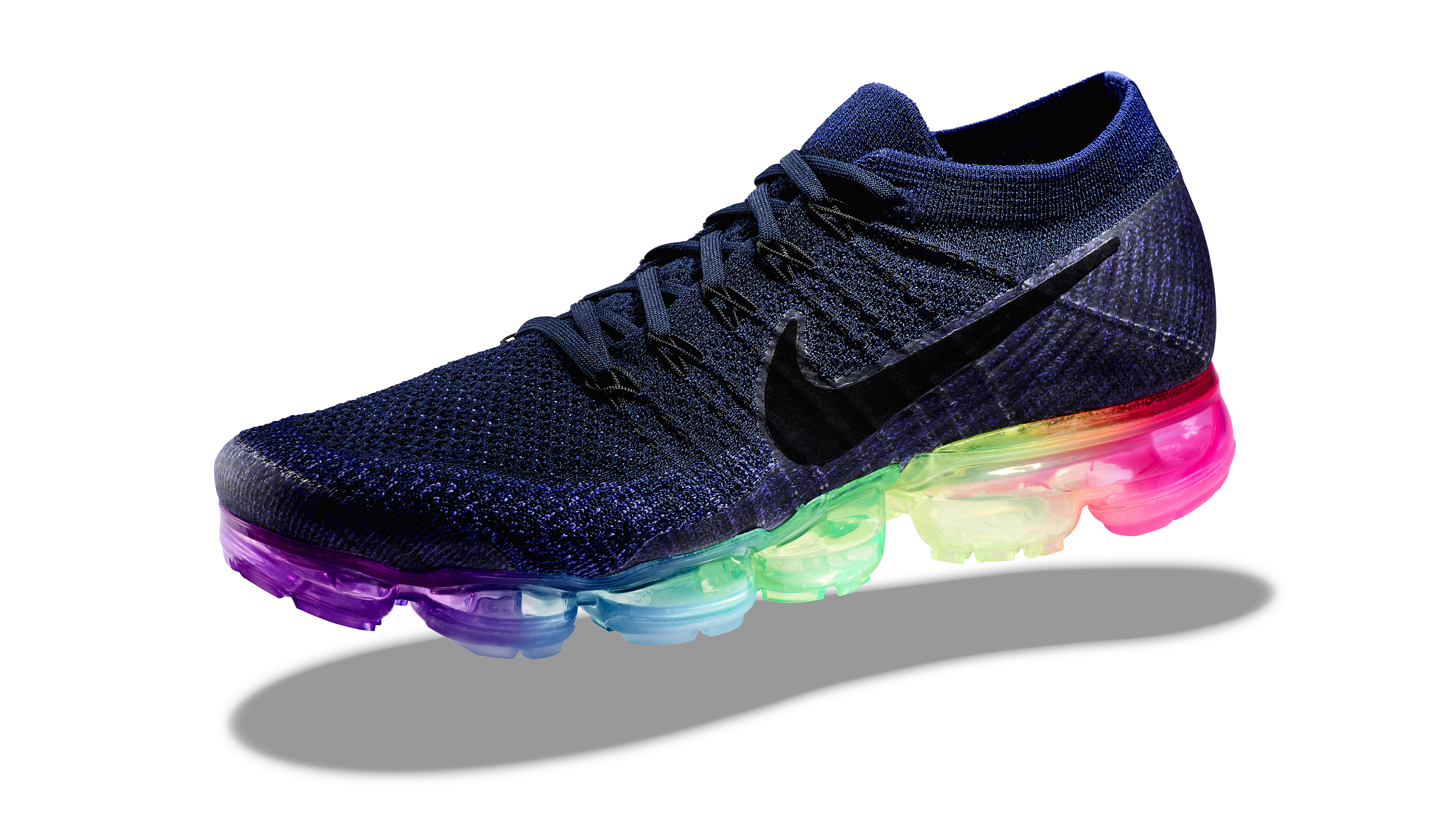 new nike shoes vapor max flyknit multi colors background 843259