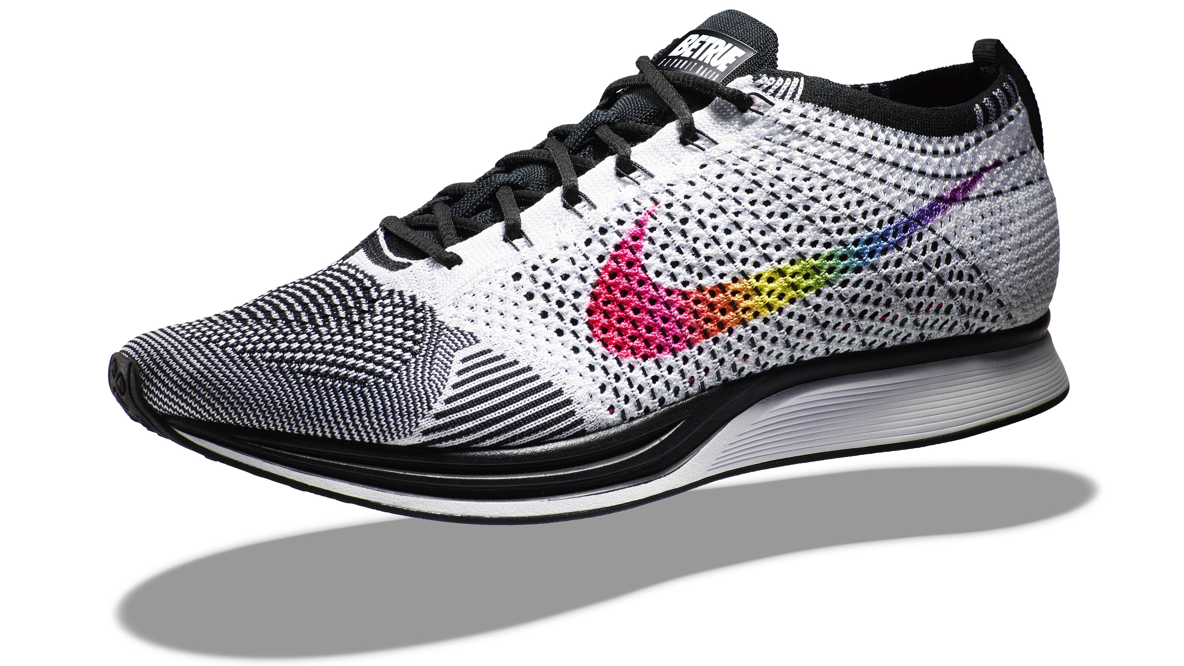 Nike Multiples Blanc Flyknit Sans Couleur Arbre Mené