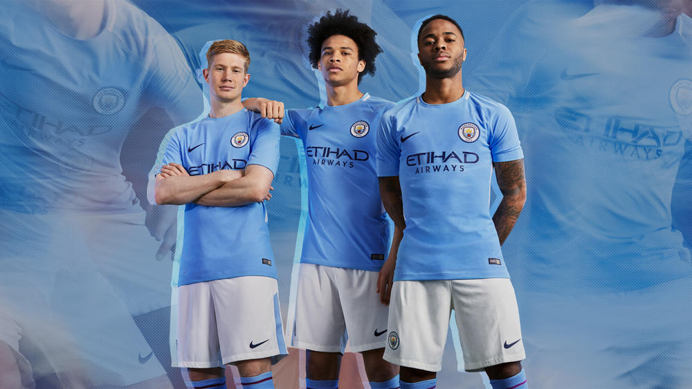 50 Years On, Nike Reinvents a Classic For Manchester City's 2017-18 Home Kit