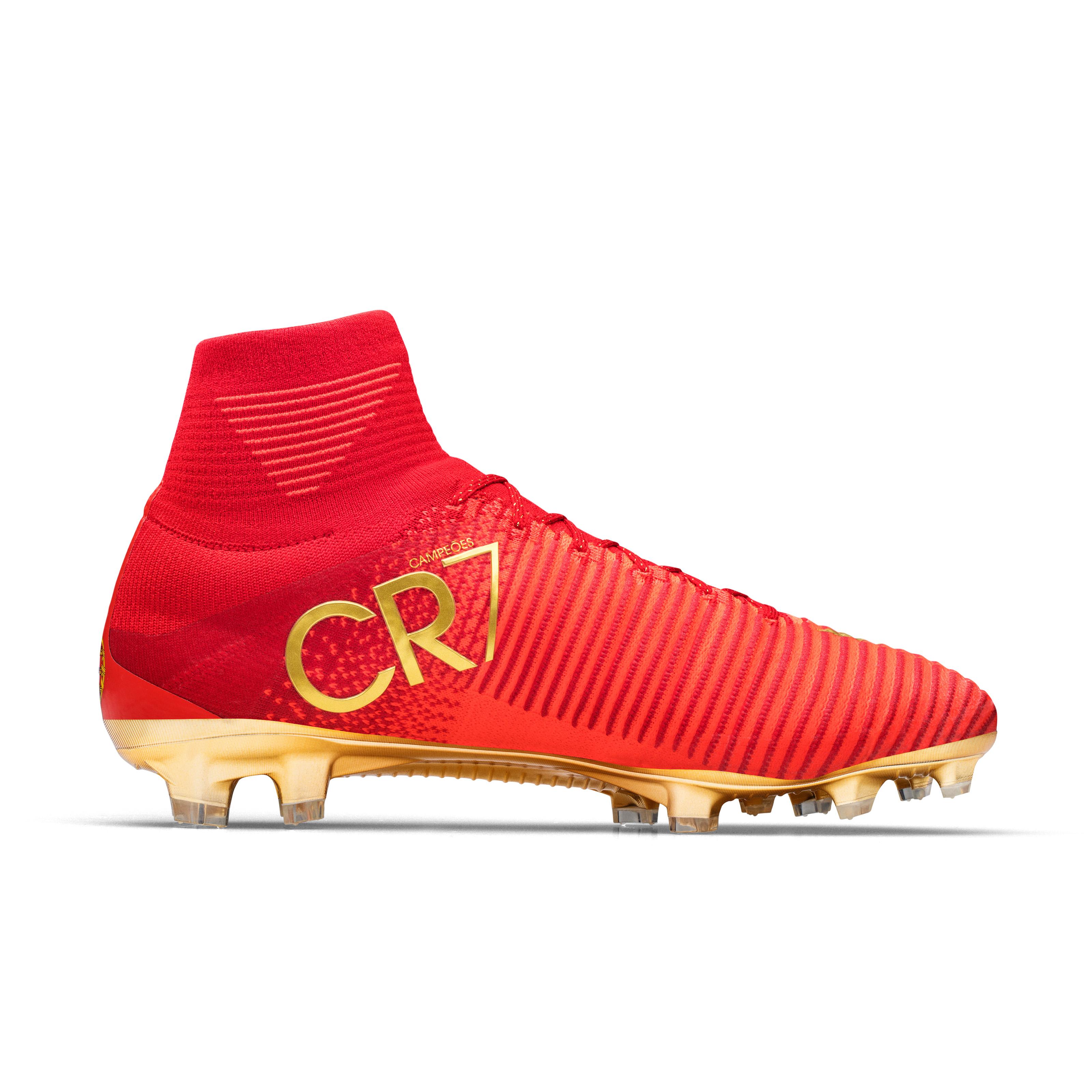 LO · HI. Special Portugal Boots for Cristiano Ronaldo: CR7 Mercurial ...