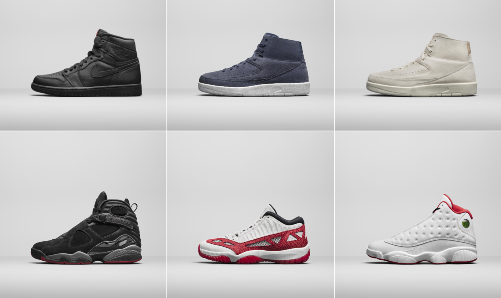 Jordan Brand Unveils Select Retro Styles for the Fall Season
