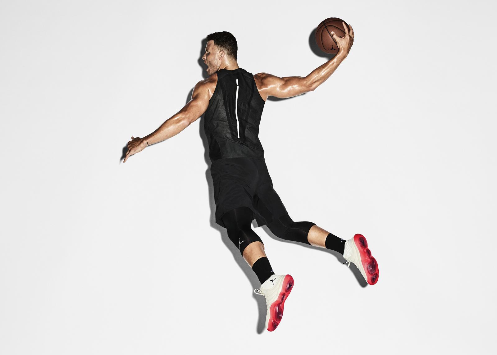 Nike Air Jordan React Super.fly Superfly 2017 Blake Gri