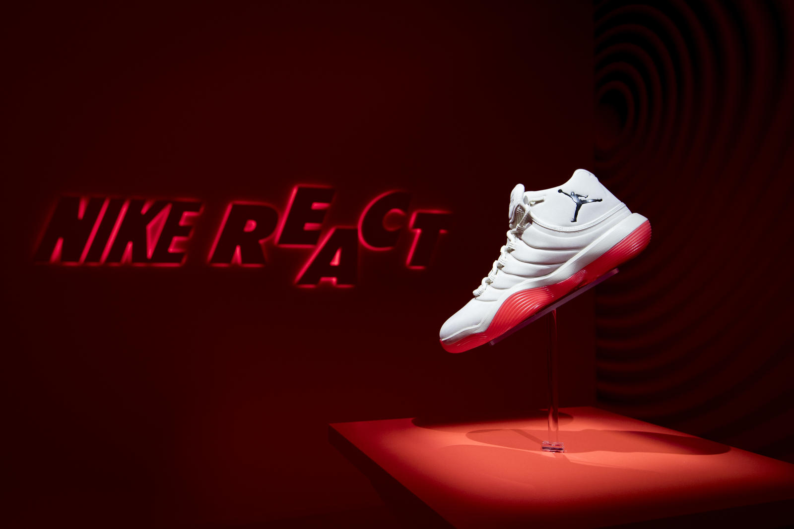 61f901bb3b4 ... infrared 23 new style a57af 871a4  where to buy for the jordan super.fly  2017 the design team employed pressure maps