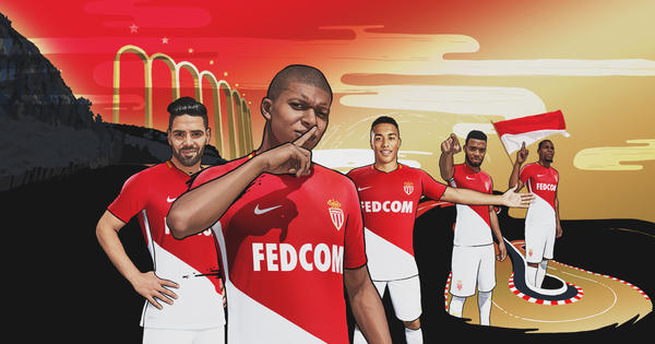 d6e6be75f AS Monaco Home Kit 2017-2018 - Nike News