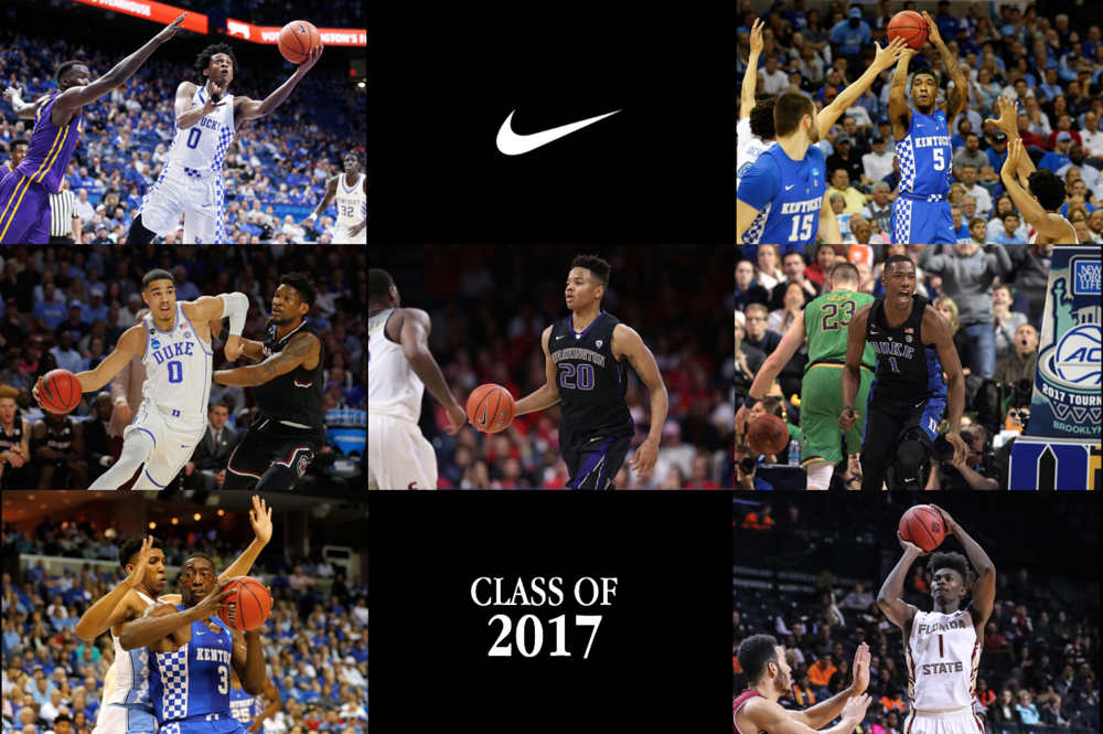 Nike Basketball Announces Its 2017 Rookie Class