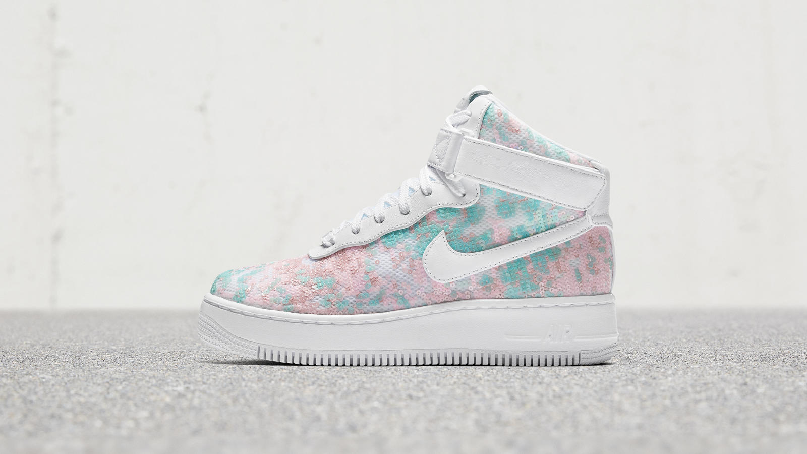 "Nike Air Force 1 ""Glass Slipper"" 0"