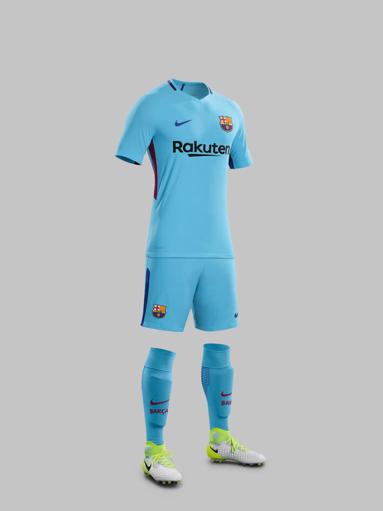 FC Barcelona Away Kit 2017-18