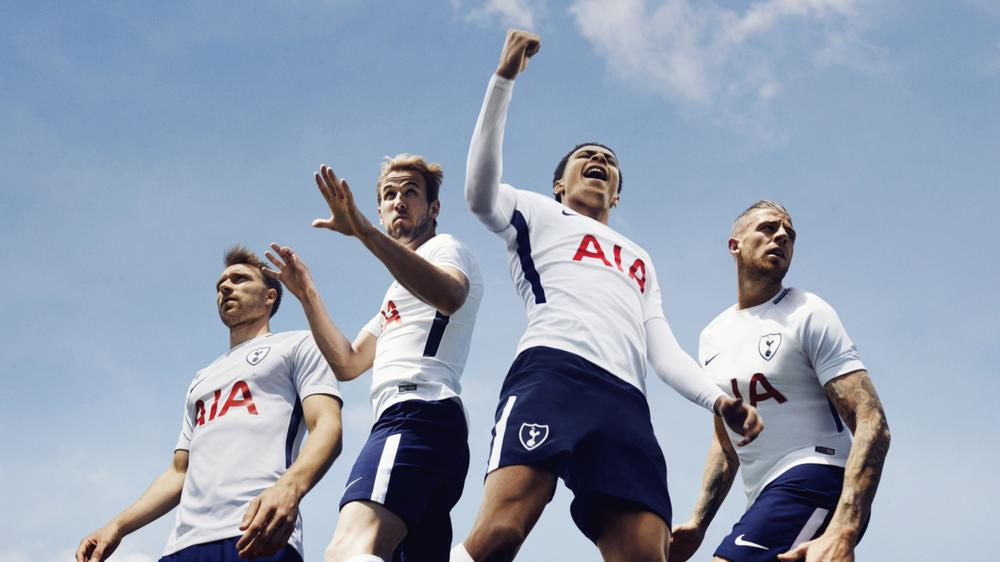 A New Era Dawns: Nike Football Outfits Tottenham Hotspur For 2017-18