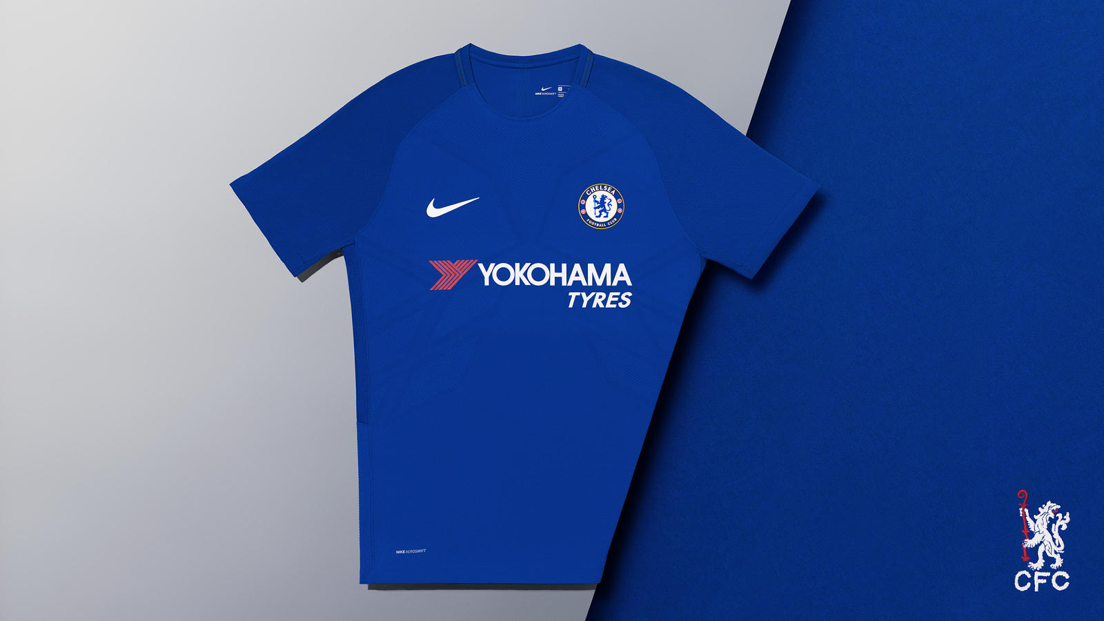 2017-18 CHELSEA FC VAPOR MATCH HOME KIT