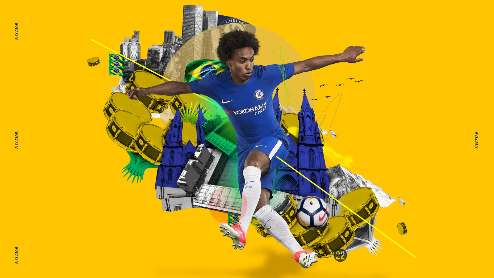 Chelsea FC And Nike Join Forces To Unveil Home Away Kits