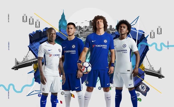 Chelsea FC and Nike Join Forces To Unveil Home and Away Kits - Nike News 73d66efff