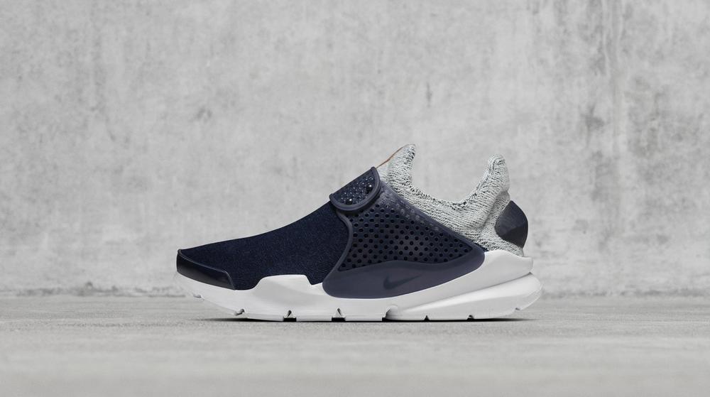 NikeLab Collaborates with Loopwheeler on Indigo-Dyed Footwear