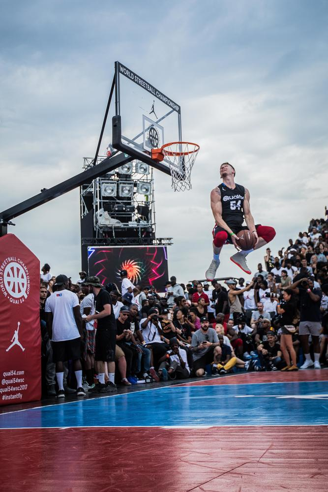 Jordan Brand Takes Flight at the World Streetball Championship in Paris