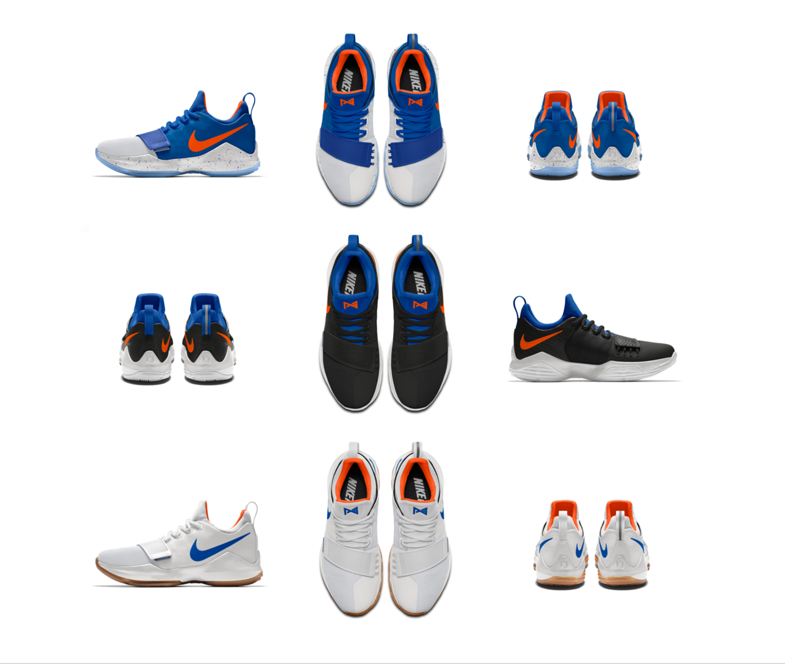 timeless design 0914e 3c687 Customize the PG1 as Paul George Officially Joins OKC - Nike ...
