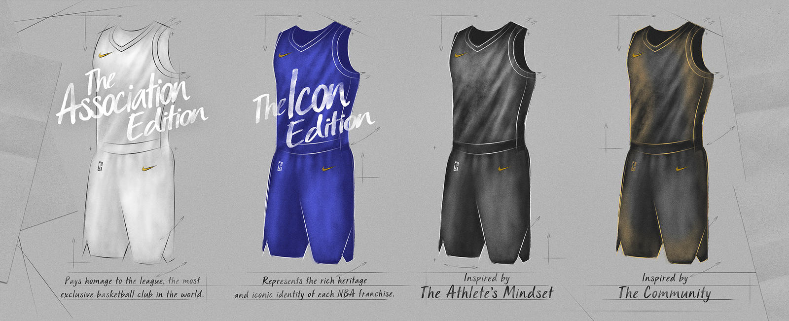 Nike and the NBA introduce the league's 2017-18 game uniform 4