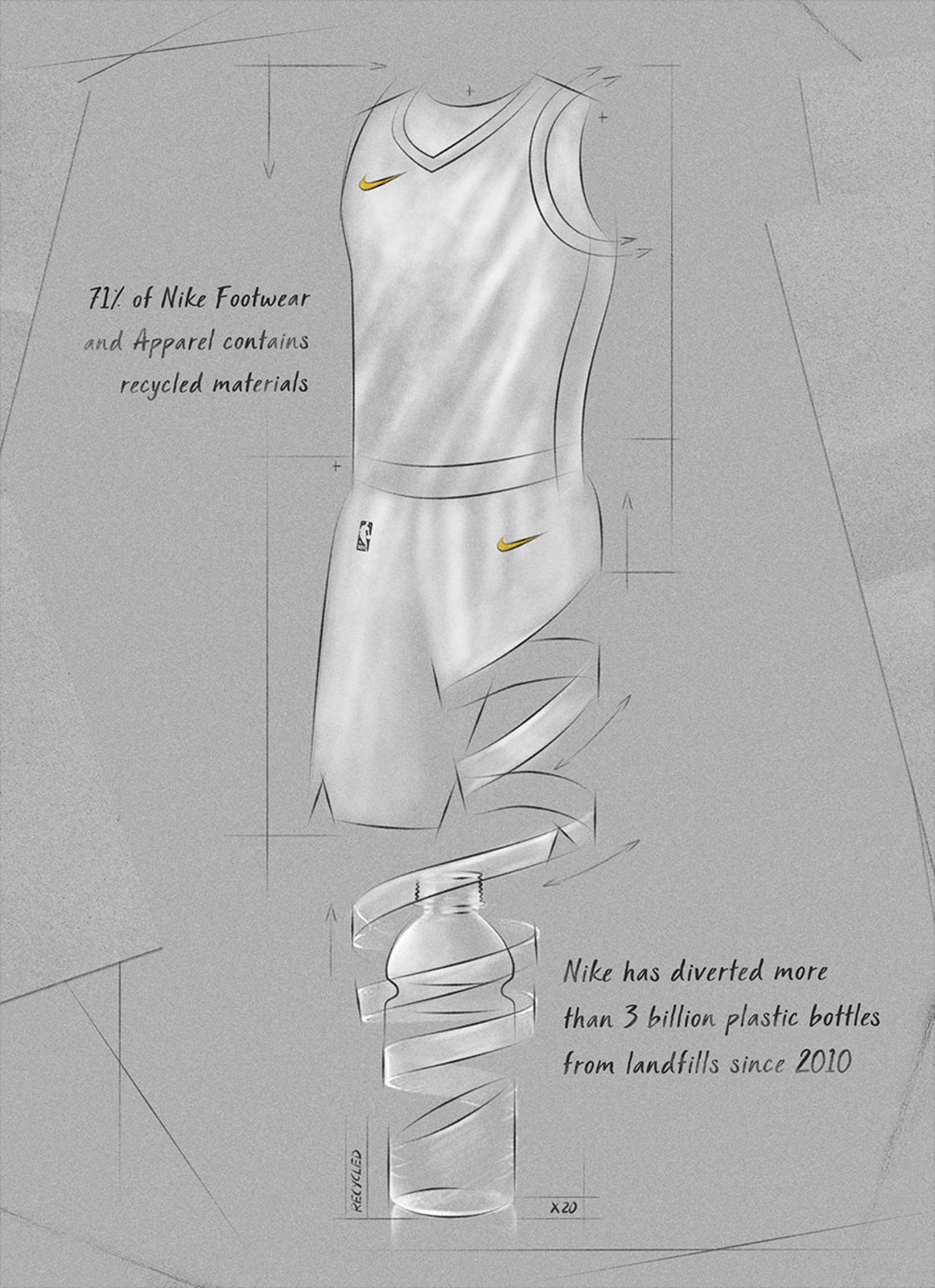 Early  Nike Basketball Shoes