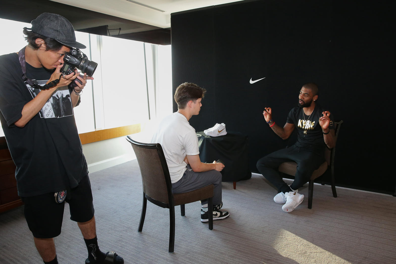 Kyrie Irving Tours Asia with Nike Basketball 2