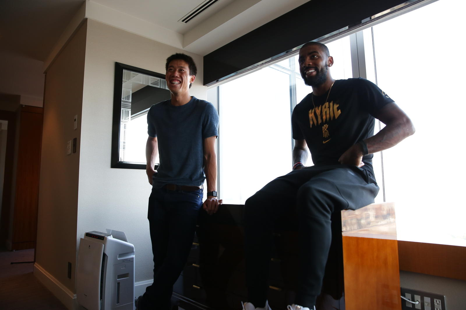 Kyrie Irving Tours Asia with Nike Basketball 5