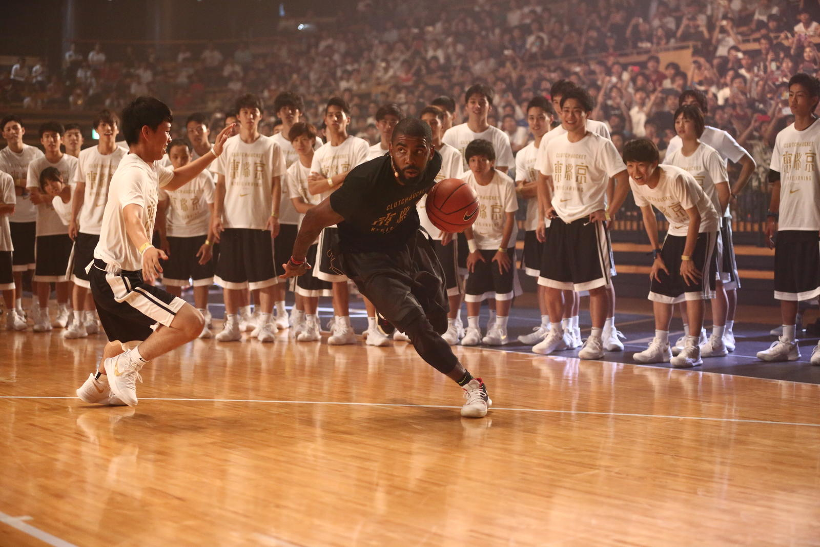 Kyrie Irving Tours Asia with Nike Basketball 14