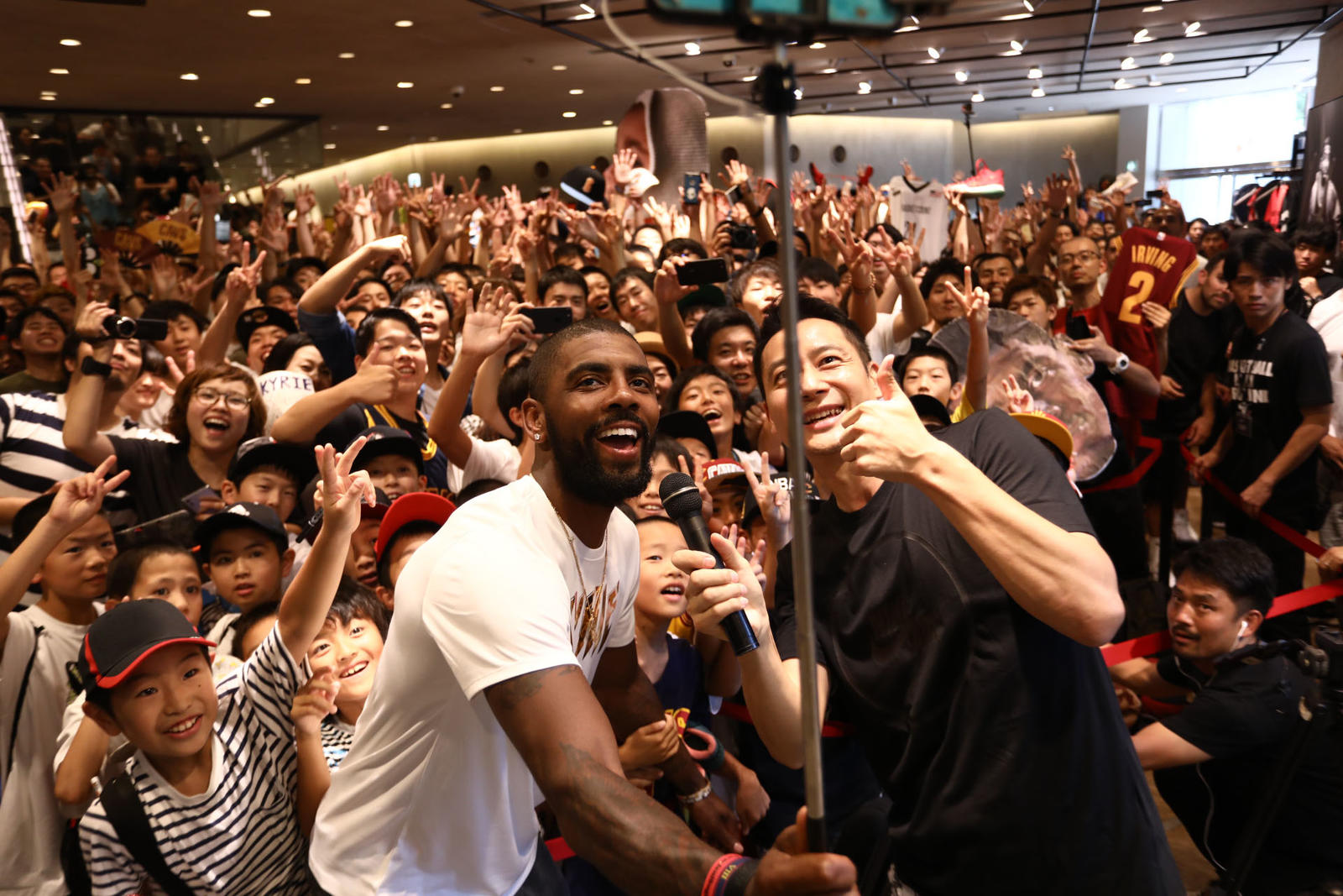 Kyrie Irving Tours Asia with Nike Basketball 16